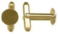 10mm Pad Cufflink- 36 pieces