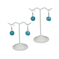 Metal Wire Curved Earring Display Set