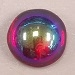 9mm Czech Glass Cabochon