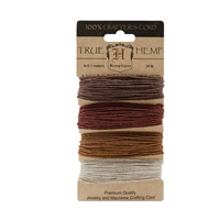 Hemptique Hemp Cord Set - 20# Test - Bronze
