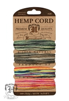 Hemptique Hemp Cord Set - 20# Test - Festival