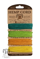 Hemptique Hemp Cord Set - 20# Test - Island