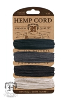 Hemptique Hemp Cord Set - 20# Test - Birds of a Feather