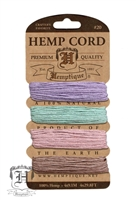 Hemptique Hemp Cord Set - 20# Test - Vintage
