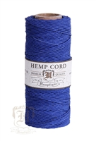Hemptique Hemp Spool - 20# Test - Blue