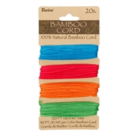 Bamboo Cord Set - 20# Test Neon - #1936-308