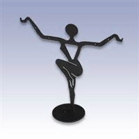 Metal Dancer Earring Display - Small