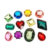 Acrylic Rhinestones Darice-The Big Bling Gem Value Pack-Multi Color & Shape Assortment