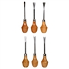 Darice 6-Piece Wood Carving Set