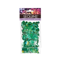 "Dream Sequinsâ""¢- Bright Green"