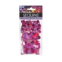 "Dream Sequinsâ""¢- Bright Fuchsia"