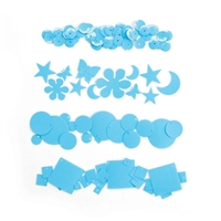 "Dream Sequinsâ""¢- Cream Blue"