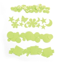 "Dream Sequinsâ""¢- Cream Lime"
