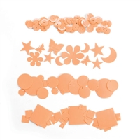 "Dream Sequinsâ""¢- Cream Peach"