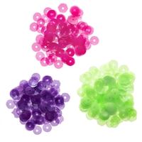 Darice® Neon Sequins: Pink/Green/Purple, 5mm, 0.15 grams