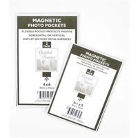 Flexible Magnetic Photo Pockets