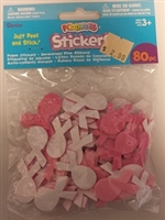 Foamies Stickers- Pink Awareness Ribbons