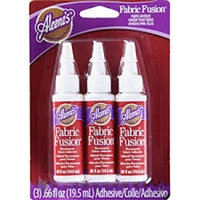 Aleene's Fabric Fusion - Set of 3, .66 fl oz Bottles