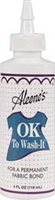 Aleene's OK to Wash-it Permanent Fabric Bond - 4 ounce