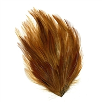 Natural Red Furnace Hackle Feather Pad