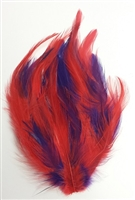 Dyed Red Hat Pheasant Feather Pad