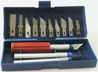 Hawk 13 Piece Hobby Knife