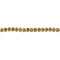 3.5mm Japanese Quality Acrylic Pearls - Gold