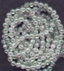5mm Japanese Quality Acrylic Pearls - Clear Iridescent