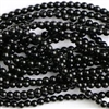 6mm Japanese Quality Acrylic Pearls - Black
