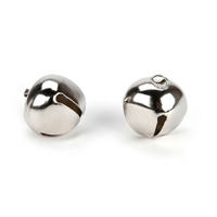 "18mm (3/4"") Jingle Bells- Silver"