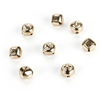 6mm Jingle Bells- Gold - 144 pieces