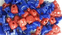 Jumbo Plastic Cats and Dogs Beads