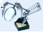 Magnifier with Soldering Stand