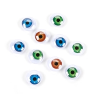 Darice® Moveable Eyes - Human Colors - 15mm - 10 pieces