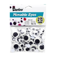 Glow in the Dark Moveable Eyes