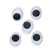 18mm Oval Moveable Eyes