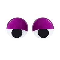 Darice® Large Self-Adhesive Googly Eyes - Sleepy Look - 6 inches - 2 pieces