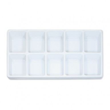 Plastic Tray Liner Insert - 10 Compartment