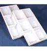 Plastic Tray Liner Insert - 6 Compartment