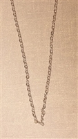 .5mm Cable Silver Plated Finished Necklace Chain