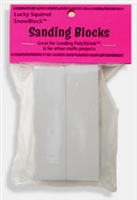 Polyshrink Sanding Blocks