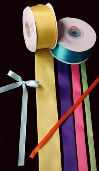 Polyester Satin Ribbon - 3/8""