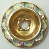 39ss Schrag-14mm CRYSTAL AB/GOLD (DISCONTINUED)