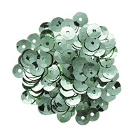 Darice® Mint Green Sequins: 5 millimeters, 5 grams