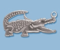 Sterling Silver Alligator Lobster Claw Clasp-24mm