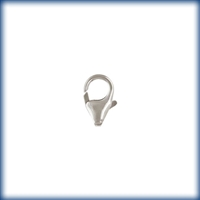 8.2mm Sterling Silver Trigger Style Lobster Claw Clasp
