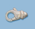 Sterling Silver Fancy Style Lobster Claw Clasp