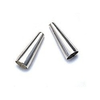 Sterling Silver Cone End - 4mm x 12mm