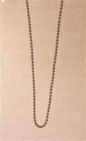 1.8mm Bead Stainless Steel Finished Necklace Chain