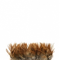 Rooster Red Furnace (neck) Hackle Feathers - #2923